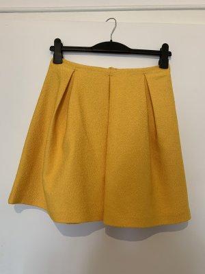 H&M Rock A-Linie gelb sonnengelb