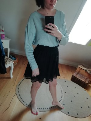 H&M Rok met hoge taille zwart