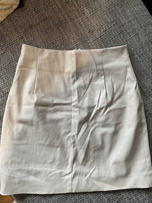 H&M Spódnica z imitacji skóry jasnobeżowy