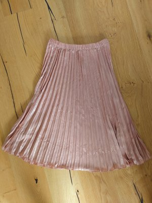H&M Jupe plissée or rose
