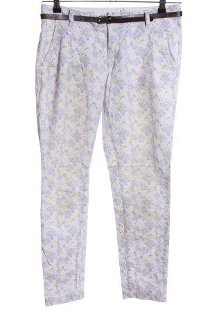 H&M Pantalón de tubo estampado floral look casual