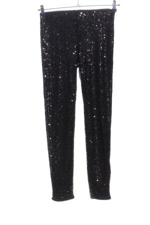 H&M Pantalon cigarette noir style extravagant