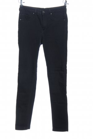 H&M Regenpijpbroek zwart casual uitstraling