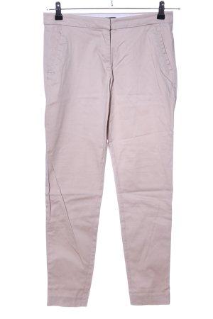 H&M Pantalón de tubo blanco puro look casual