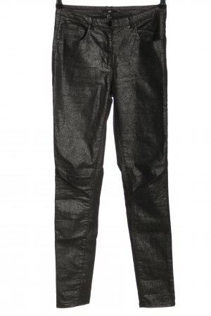H&M Pantalone a sigaretta nero stile casual