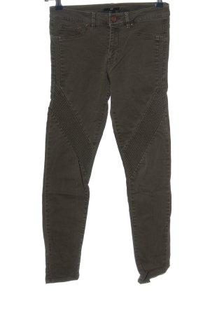 H&M Pantalon cigarette brun style décontracté