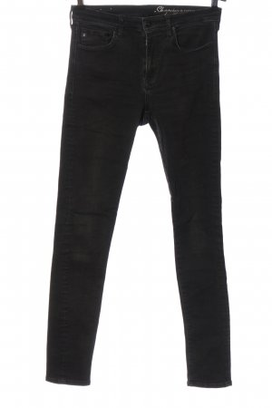 H&M Tube Jeans black casual look