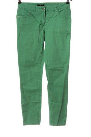 H&M Röhrenjeans grün Casual-Look