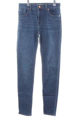 H&M Jeans cigarette bleu style décontracté