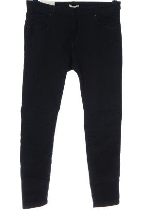 H&M Tube jeans zwart casual uitstraling
