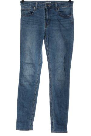 H&M Jeans a sigaretta blu stile casual
