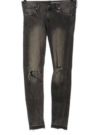 H&M Jeans a sigaretta grigio chiaro stile casual