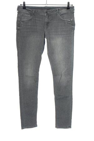 H&M Jeansy rurki jasnoszary W stylu casual