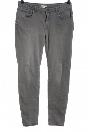 H&M Tube Jeans light grey casual look