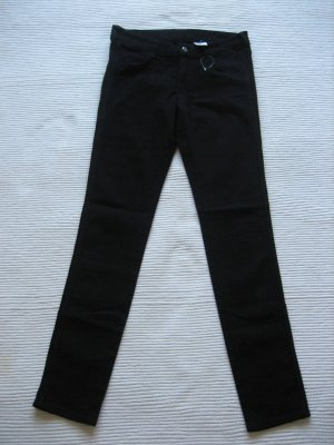 h&m roehrenjeans skinny jeans neu gr. s 36 schwarz