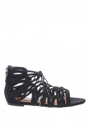 H&M Roman Sandals black casual look