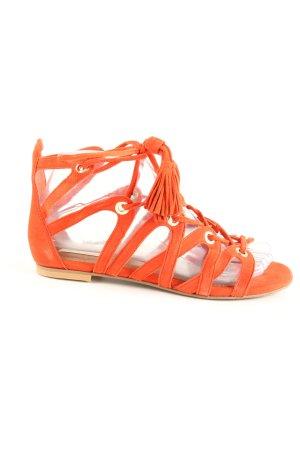H&M Sandalo romano arancione chiaro stile casual