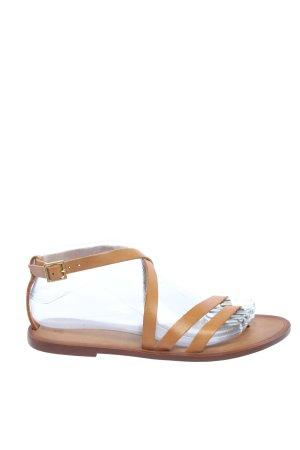 H&M Romeinse sandalen bruin casual uitstraling