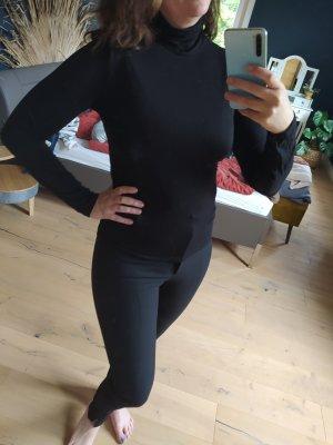H&M Top à col roulé noir