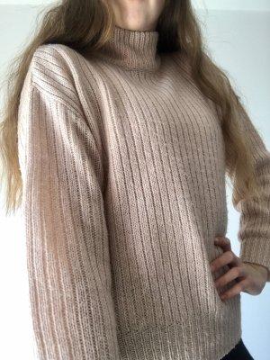 H&M Turtleneck Sweater pink