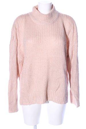 H&M Rollkragenpullover pink Casual-Look