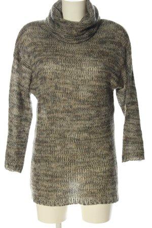 H&M Jersey de cuello alto moteado look casual
