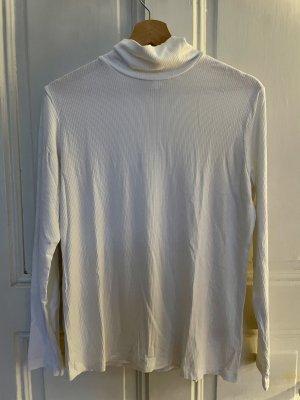 H&M Maglia a collo alto bianco