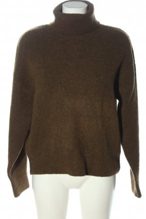 H&M Rollkragenpullover khaki Casual-Look