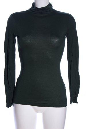 H&M Rollkragenpullover grün Casual-Look