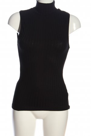 H&M Colshirt zwart casual uitstraling