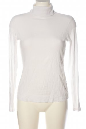 H&M Turtleneck Shirt white casual look