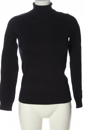 H&M Turtleneck Shirt black casual look