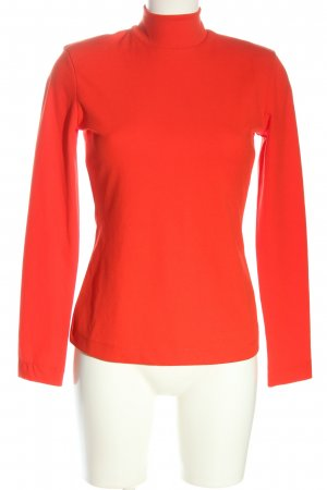 H&M Colshirt rood zakelijke stijl