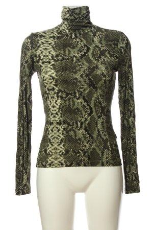 H&M Maglia a collo alto stampa integrale stile casual