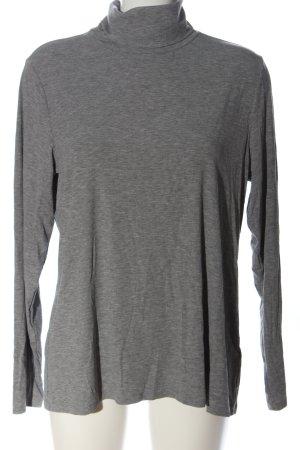 H&M Koszulka z golfem jasnoszary Melanżowy W stylu casual
