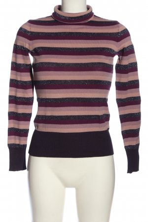H&M Turtleneck Shirt striped pattern casual look