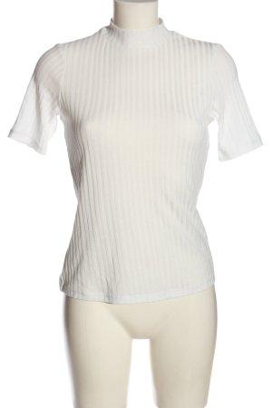 H&M Koszulka z golfem biały W stylu casual