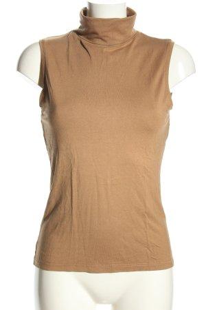 H&M Neckholder Top brown casual look