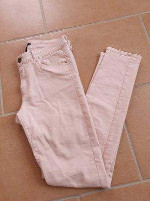 H&M Pantalon cigarette rosé