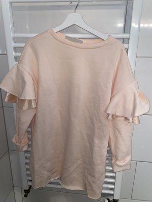 H&M Rosa Kleid mit Volantärmeln