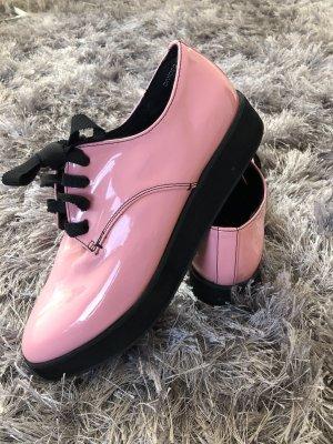 H&M Bottines à plateforme rose