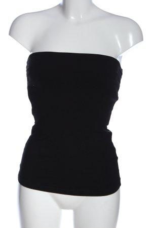 H&M Haut dos-nu noir style décontracté