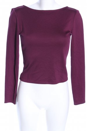 H&M Backless Top lilac casual look