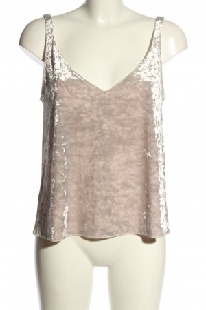 H&M Rugloze top wolwit-lichtgrijs casual uitstraling