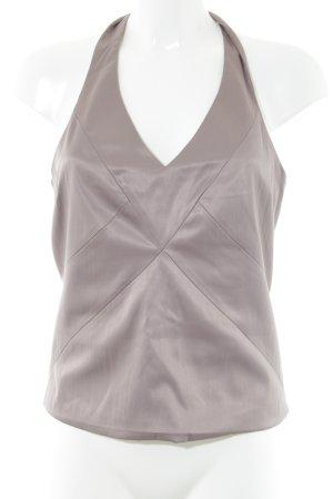 H&M Blusa sin espalda blanco puro estilo «business»