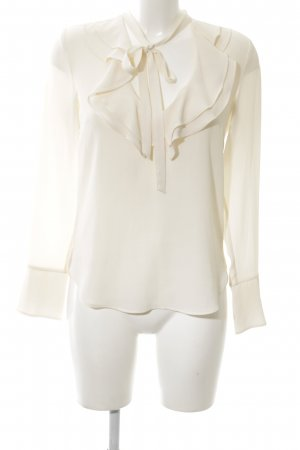 H&M Rüschen-Bluse creme Elegant