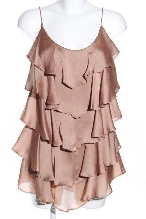 H&M Top met franjes bruin casual uitstraling