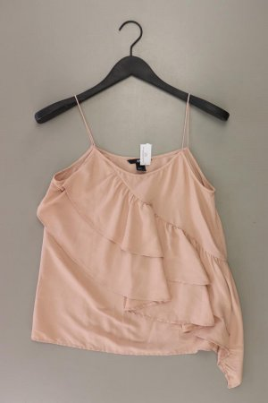 H&M Frill Top dusky pink-pink-light pink-pink polyester