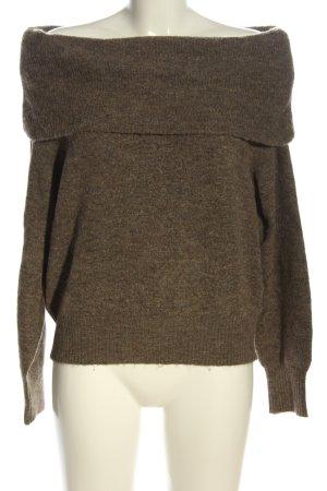H&M Rundhalspullover bronzefarben meliert Casual-Look