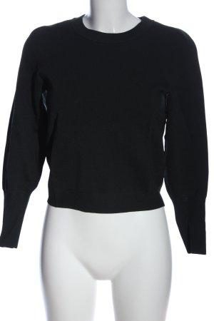 H&M Rundhalspullover khaki Casual-Look